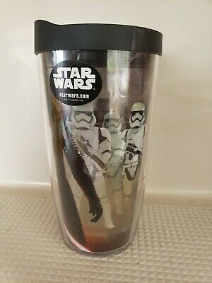 8cf32f4665b Tervis Star Wars - Collage Tumbler with Wrap and Black Lid 16oz, Clear  Insulated