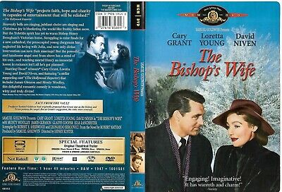 The Bishop's Wife (OOP 2001 DVD, Sensormatic)  Cary Grant, Loretta Young
