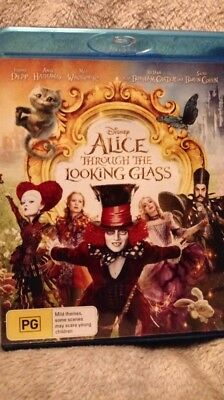 Alice Through The Looking Glass ( Blu-ray)  Region Free [Brand New & unsealed]