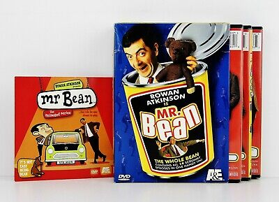 Mr Bean Complete Animated Series Volumes 1 2 3 4 5 6 Brand New