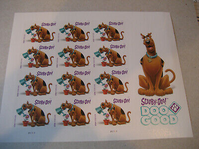 Usa Sheet     #5299 – 2018 Forever Stamp - Scooby-Doo  Full Sheet
