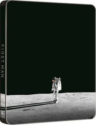 First Man Limited Edition Steelbook 4K UHD + Blu Ray