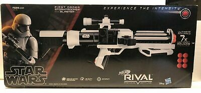 Nerf Rival Star Wars Stormtrooper Blaster Rare By Hasbro NEW/SEALED IN HAND