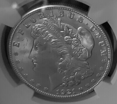 1921-S Silver Morgan Dollar $1 NGC MS 63 Quickship #06