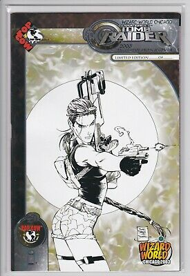 Tomb Raider #30 (2003 Wizard World Chicago Limited Edition Sketch variant) VF/NM