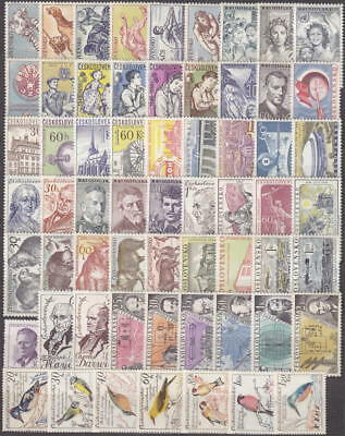 Czechoslovakia CSR,stamps complet year 1959**,MNH unused Without sheets