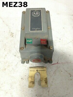 Allen-Bradley 609-BEW Manual Starter Switch 200/230VAC 460/575VAC