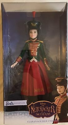 Nutcracker and the Four Realms Clara's Soldier Uniform Barbie Doll NIP