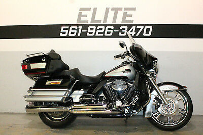 """2010 Harley-Davidson Electra Glide Ultra Classic  2010 Harley Ultra 21"""" Front Wheel Stage 1 Exhaust Chrome FINANCING 561-926-3470"""