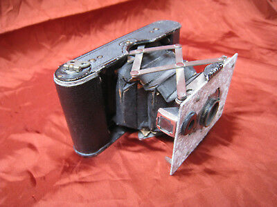 early 1900s KODAK concertina folding camera antique Eastman Kodak f-7.7 camera