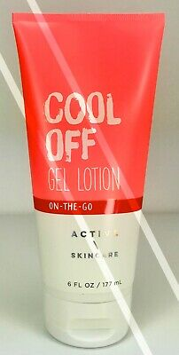 BATH AND BODY WORKS*COOL OFF*GEL LOTION CREAM*COOLING ACTION*Free Shipping! NEW