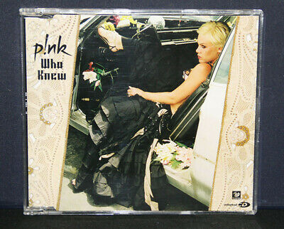 Pink - Who Knew - CD - Single