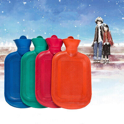 2 L Hot Water Bottle Hotwater Natural Rubber Warmer Screw Hot Therapies Green