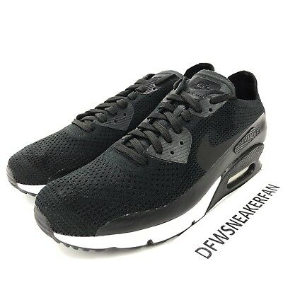 new concept ea094 4434b Nike Air Max 90 Ultra 2.0 Flyknit pour Hommes 8.5 Noir Blanc Chaussures  Course