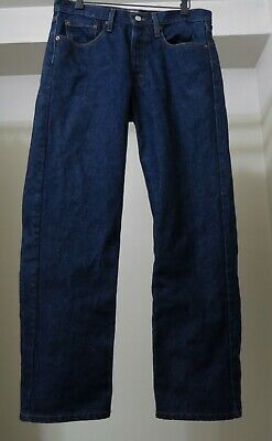 Levi's 501 Button Fly Jeans Made in USA Worn once Excellent Cond Sz 33 x 30