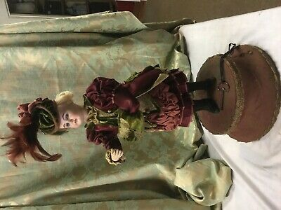 Antique Musical Automaton Doll