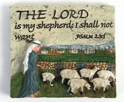 """""""God Lord is my Shepherd """" MAGNET Bible Chants Psalms Book Hymns Holy Land Gift"""