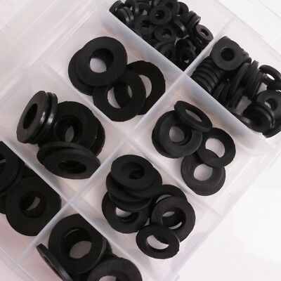 RUBBER O RING SET 240Pc Plumbing Seal Tap Bath Sink Washers Buffer Packer Spare