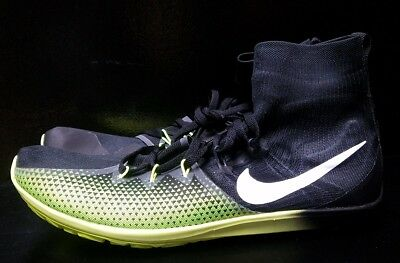 new concept 1bc5e 3bb62 Nike Zoom Victory Waffle 4 XC Mens Racing Shoes Size 10.5 Black Volt  878803-017