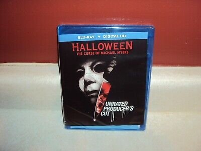 Halloween 6 Curse Of Michael Myers Blu-Ray Unrated Producers Cut New Sealed