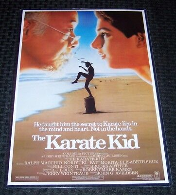 The Karate Kid 11X17 Original Version Movie Poster Ralph Macchio William Zabka