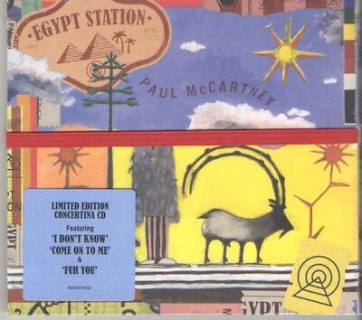 Paul McCartney Egypt Station New CD Limited Edition Concertina Package