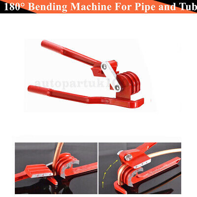 Aluminum alloy 180° Bending Machine For Pipe and Tube 6 8 10 mm O.D. soft tubing