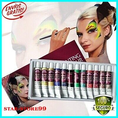 Beauty & Health Body Paint Generous 6 Colors Body Face Paint Makeup Painting Pigment For Children Body Art Cosplay Supplies