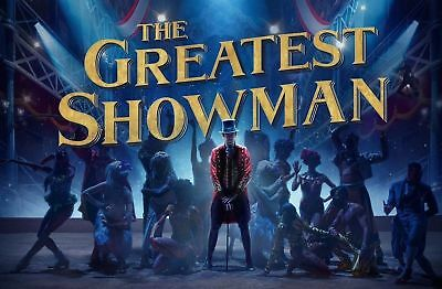 The Greatest Showman Movie Poster A4 260Gsm