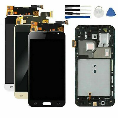 For Samsung Galaxy J3 2016 SM-J320FN Touch Screen Digitizer+LCD Display+Frame UK