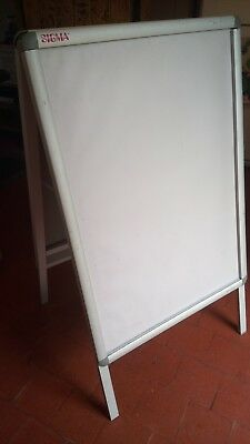 A1 Sigma Poster Stand A-Board Pavement Sign Display Stand Waterproof Snap Frame