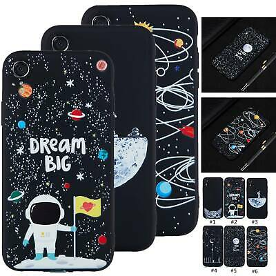 UK Pattern Matte Silicone Rubber Case Phone Back Cover For iPhone Samsung Huawei