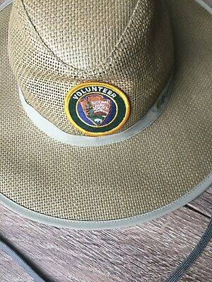 0ff504ca691 OUTDOOR RESEARCH National Park Service Papyrus Brim Sun Hat Walnut Sz. Large  NWT