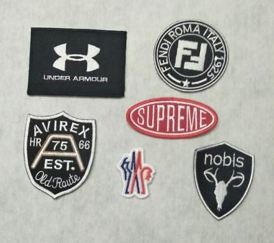 ecusson patch AVIREX FENDI NOBIS SUPREME UNDER ARMOUR