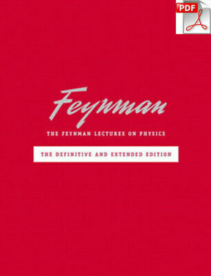 The Feynman Lectures on Physics (3 Volume Set) [PDF] FAST!!