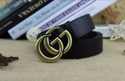 Cintura Gucci Belt MADE IN ITALY Donna Verde 409416HE21T 8476.