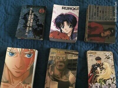 Lote de 645 Cards De Manga.Akira, Ghost in the Shell, Steampunk, etc