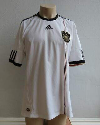 83a54b138 Germany 2010-11 home shirt adidas Deutschland jersey size L World Cup 2010