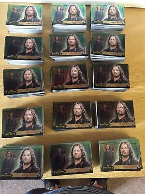 15 Sets  X  Topps Lord Of The Rings Evolution  : 72 Foil Card Base Set