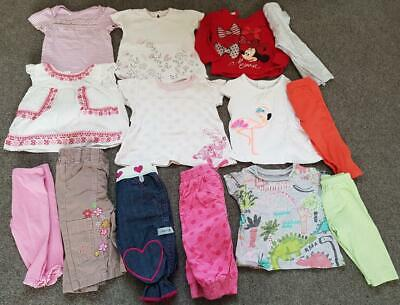 Baby Girl, 7 X  2 Piece Outfits  Clothes Bundle    3-6 Months