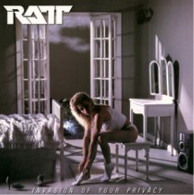 Ratt-Invasion of Your Privacy CD / Remastered Album NEUF