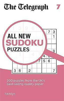 The Telegraph All New Sudoku Puzzles 7 (The Telegraph) NEW Paperback Puzzle Book