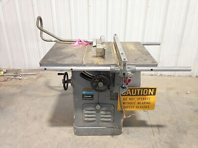 """Rockwell 34-771 Unisaw 10"""" Table Saw 3450RPM 3HP 3PH w/ 36"""" X 27"""" Table"""