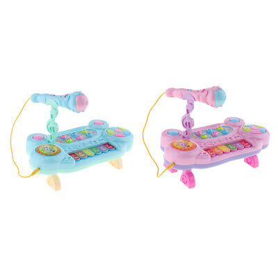 Kids Electronic Grand Piano Children Keyboard Toy with Microphone Toy