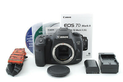 Canon EOS 7D Mark II 20.2MP Digital SLR Camera Black From Japan [Excellent++]