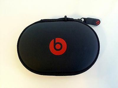Hard Case For Beats By Dr Dre PowerBeats 2 / 3 Wireless UrBeats Tour Black / Red