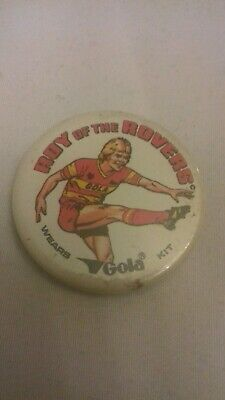 roy of the rovers vintage badge