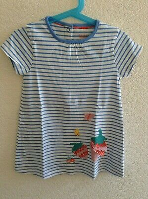 NEW Beautiful ex Baby Boden Strawberry Applique Dress 0 to 4 Years
