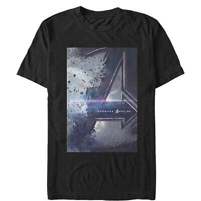 Marvel Avengers: Endgame Movie Poster Mens Graphic T Shirt