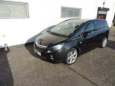 12 Vauxhall Zafira Tourer 2.0CDTi Elite Damaged Salvage Repairable Fab Spec!!!!!